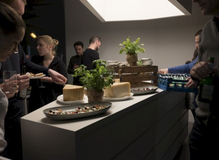 5 - Afterparty with fingerfood and beverages at the Phoenix Design studio Munich.