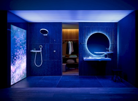 GOLD: Excellent Product Design Bath and Wellness for hansgrohe RainTunes