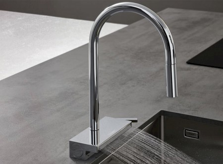 GOLD: Excellent Product Design Kitchen for hansgrohe Aquno Select M81