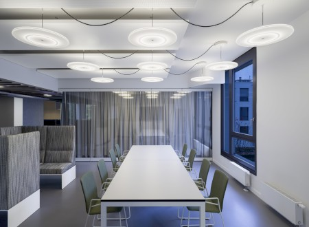 Phoenix Design Studio Munich, Meeting; Interior Design: Ippolito Fleitz  Group; Photographer: